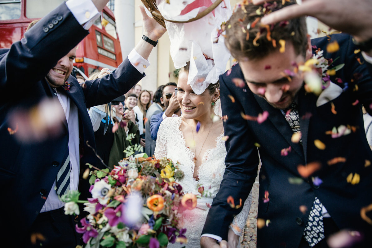 BRIXTON EAST CONFETTI WEDDING