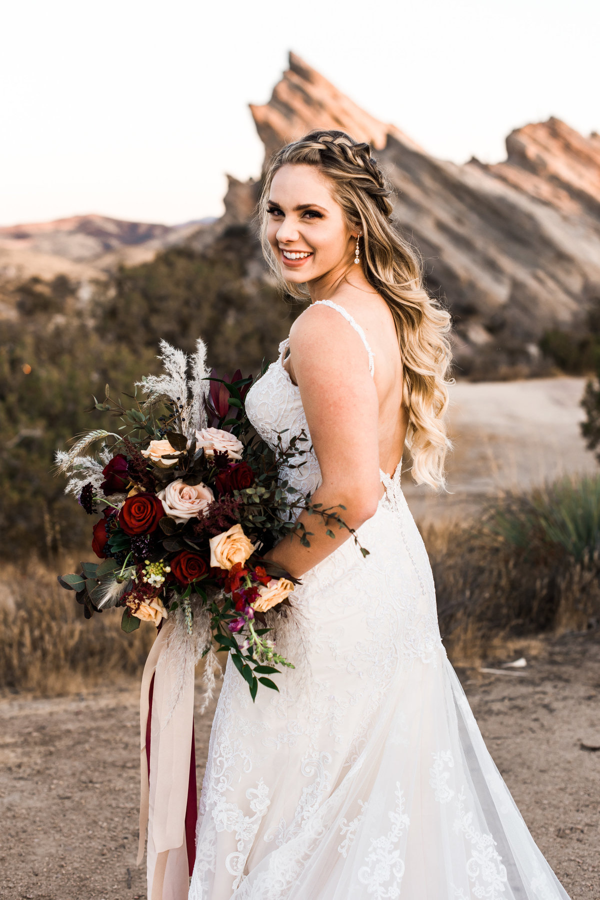 california wedding portrait photo