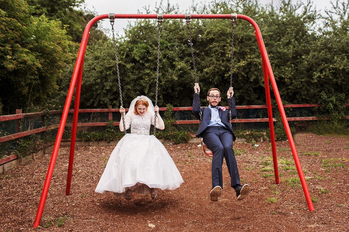 Fun Wedding Pictures in South Yorkshire