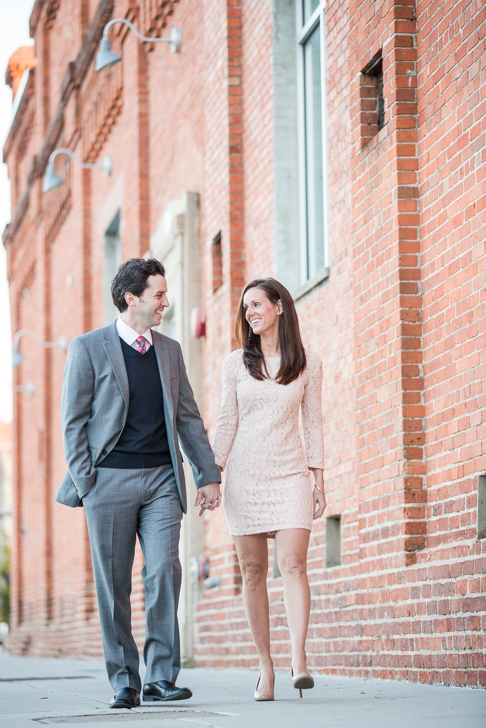 Downtown Durham engagement session