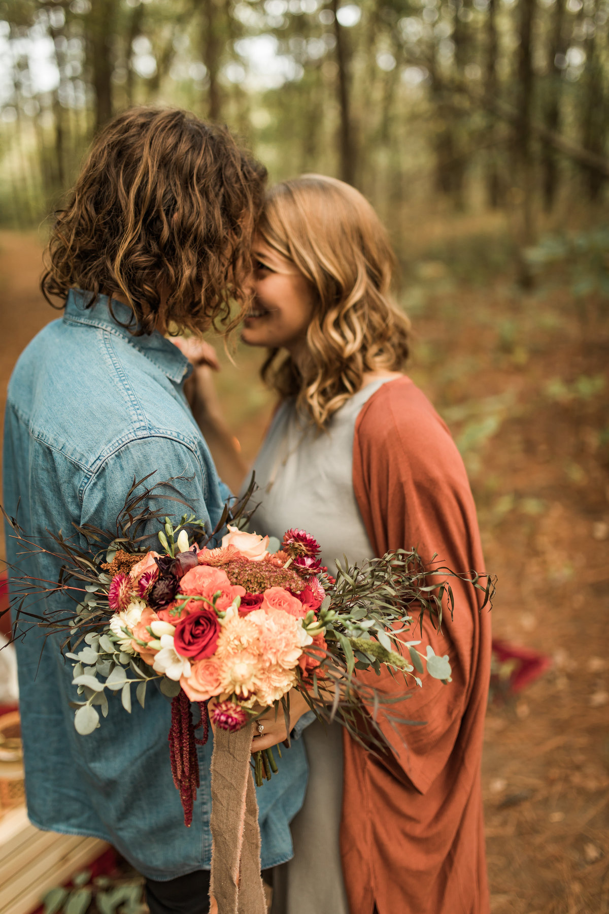 Busch Wildlife  Defiance, MO  Fall Picnic Colorado Themed Surpise Proposal  Cameron + Mikayla  Allison Slater Photography308