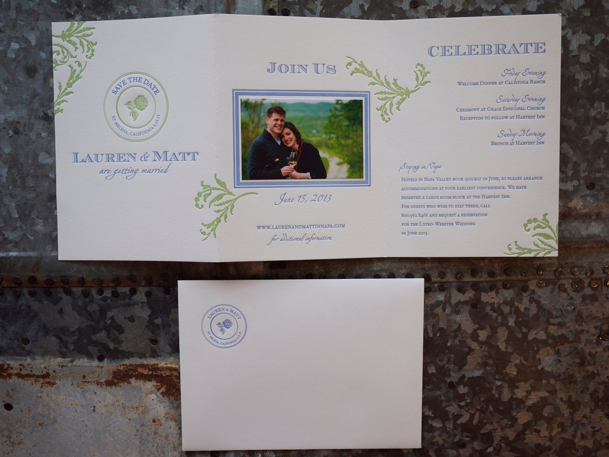 Lauren & Matt Save the Date