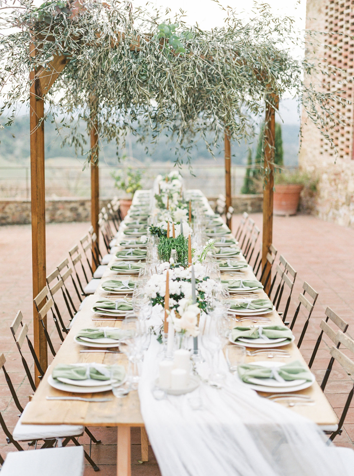 Tuscany Wedding Erica Nick - Lauren Fair Photography334