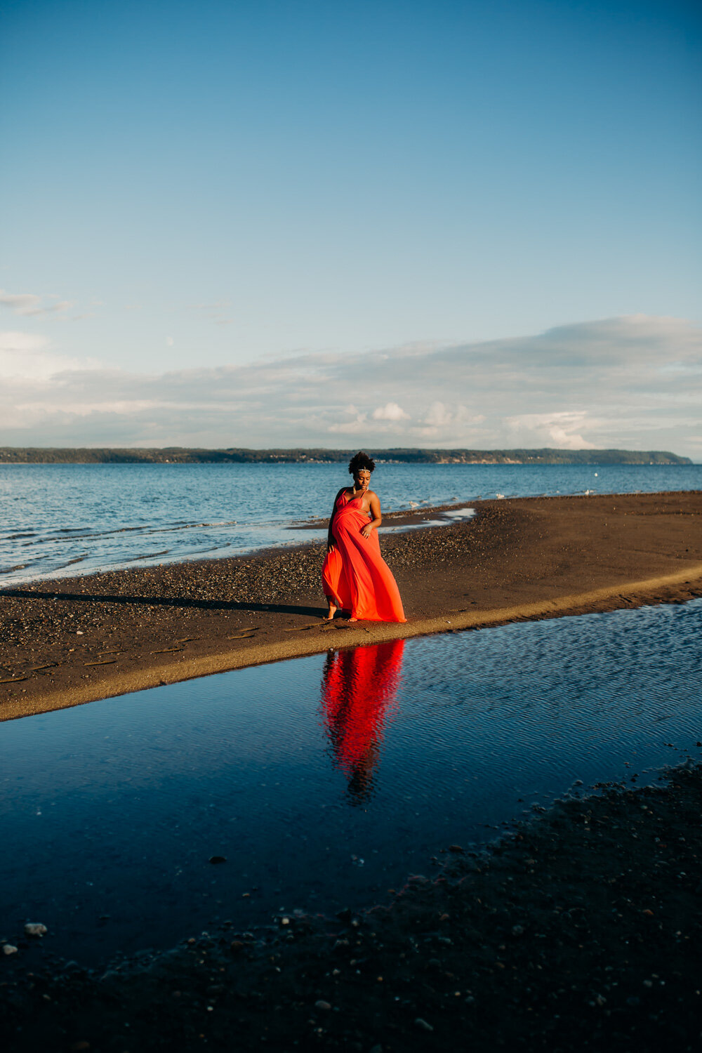 Camano Island Washington Maternity Photography-12