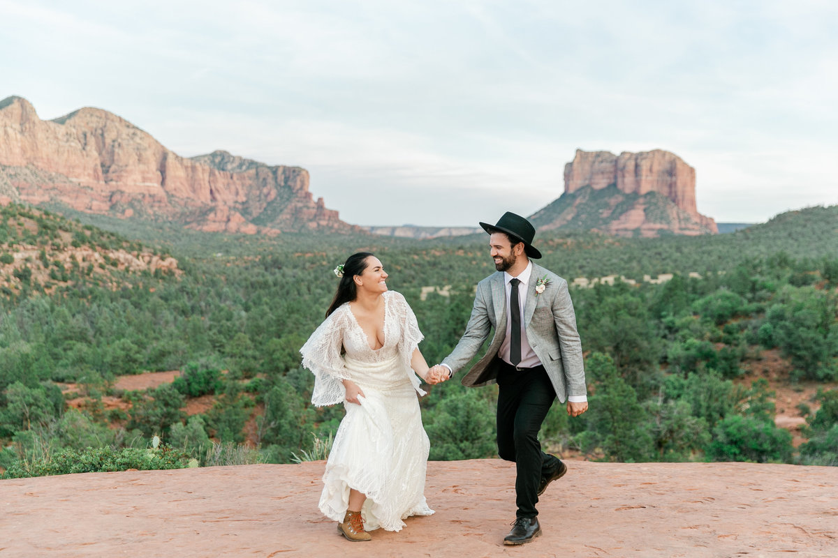 Karlie Colleen Photography - Sedona Arizona Elopement Wedding - Sara & Alfredo-229