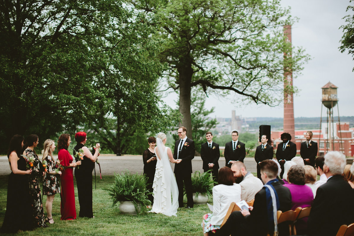 Richmond, Virginia wedding at Havana 59 and Libby Hill Park by wedding planner, For Love of Love