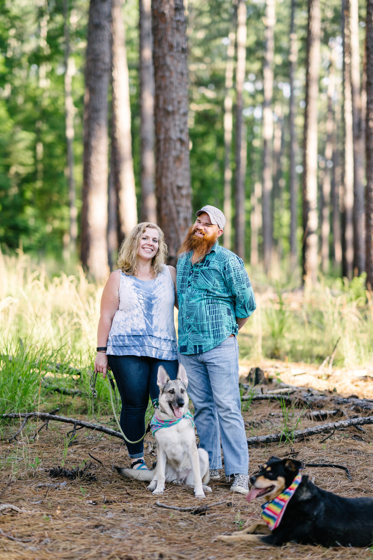 Kathy+Jonah|DukeForestPortraitSession-9
