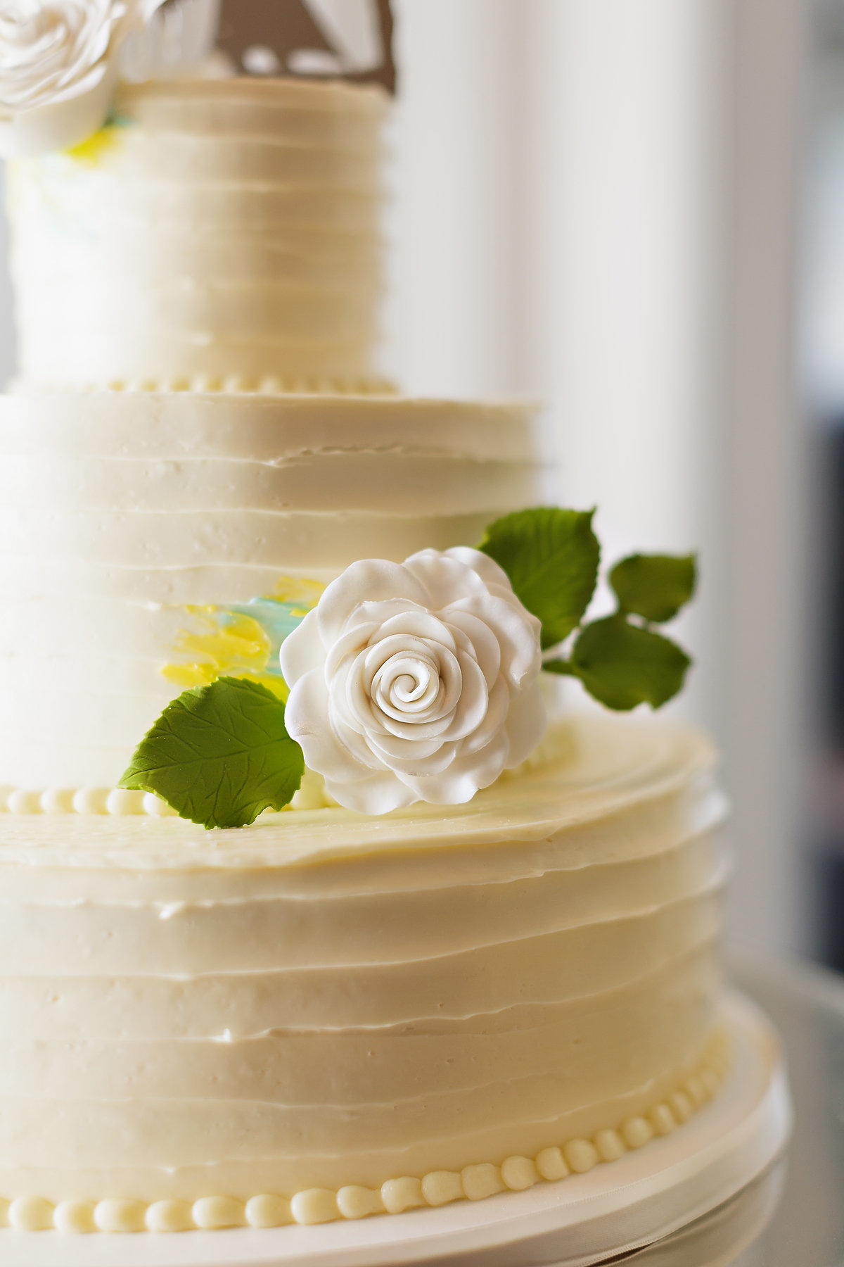 beautiful simple wedding cake