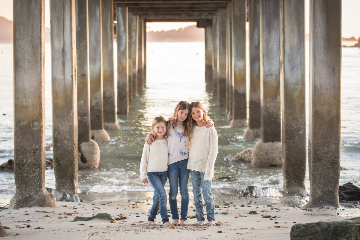 Pebble Beach family session