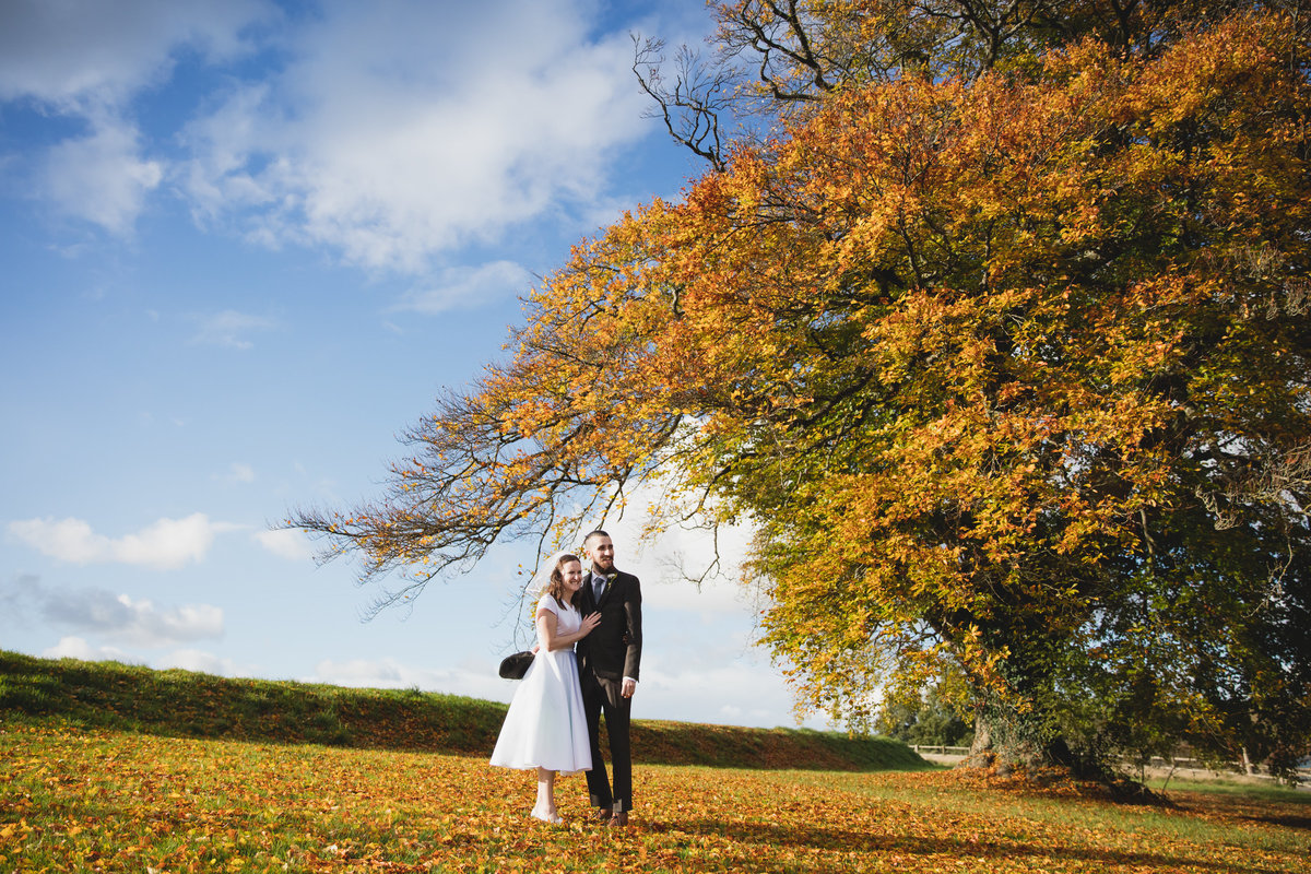 october wedding in devon