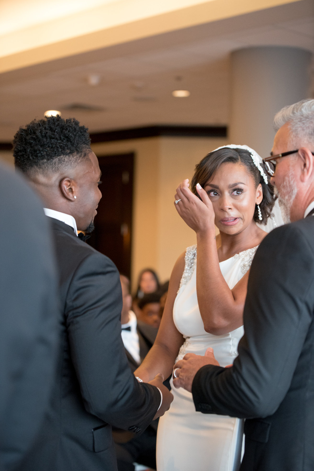 NFL Miami Dolphins Brandon Radcliff ShaKyra Radcliff Briza on the Bay Wedding Andrea Arostegui Photography-114