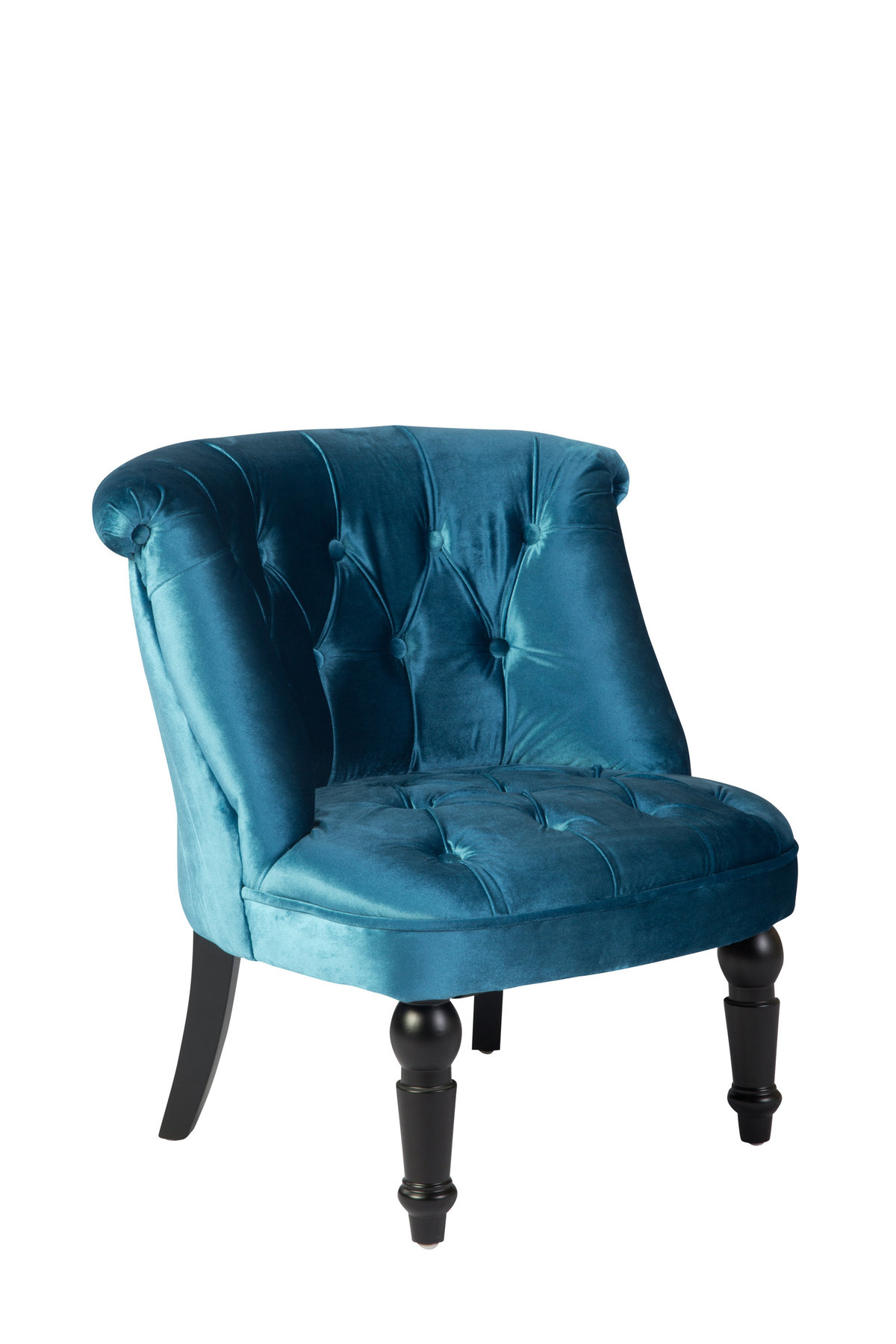 Siena Blue Club Chair