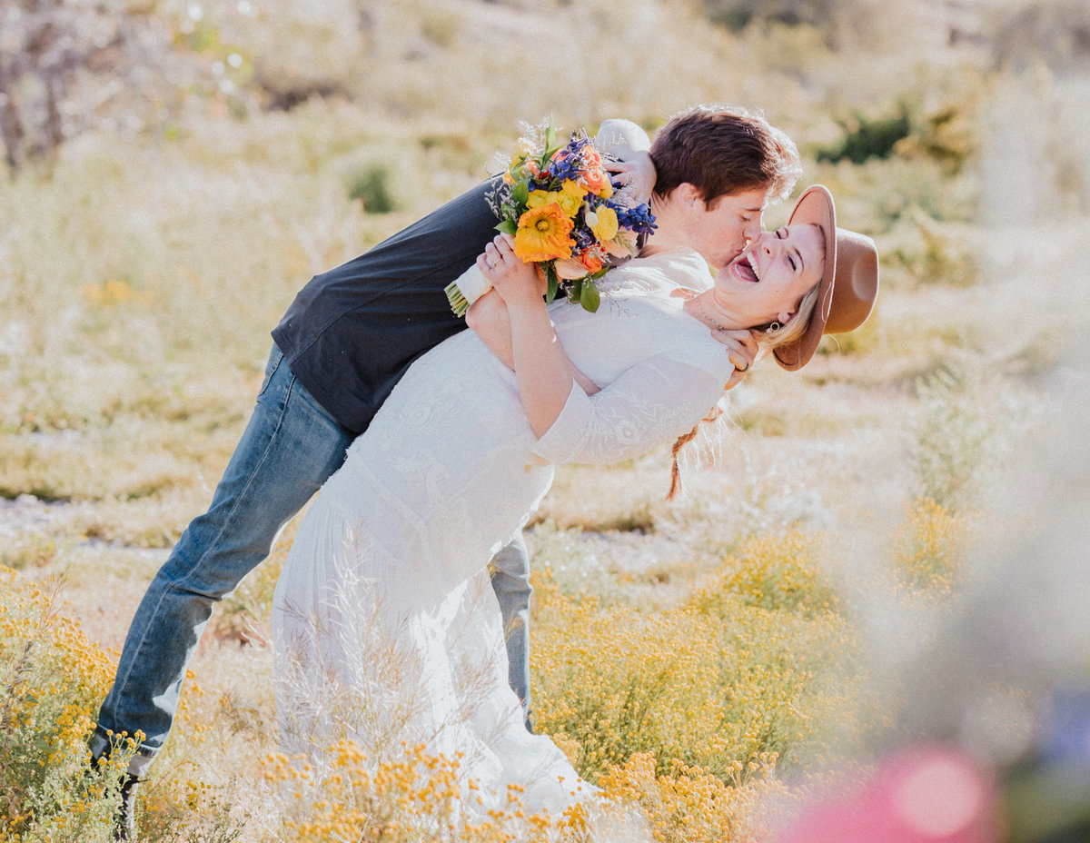 Atlas Rose Photography AZ Wildflower Smiles And Kisses01