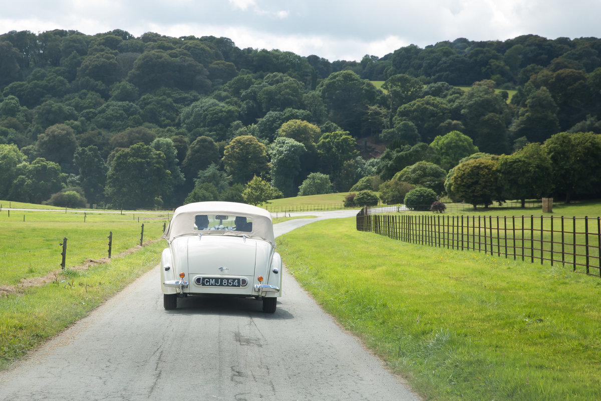 wedding car in devon