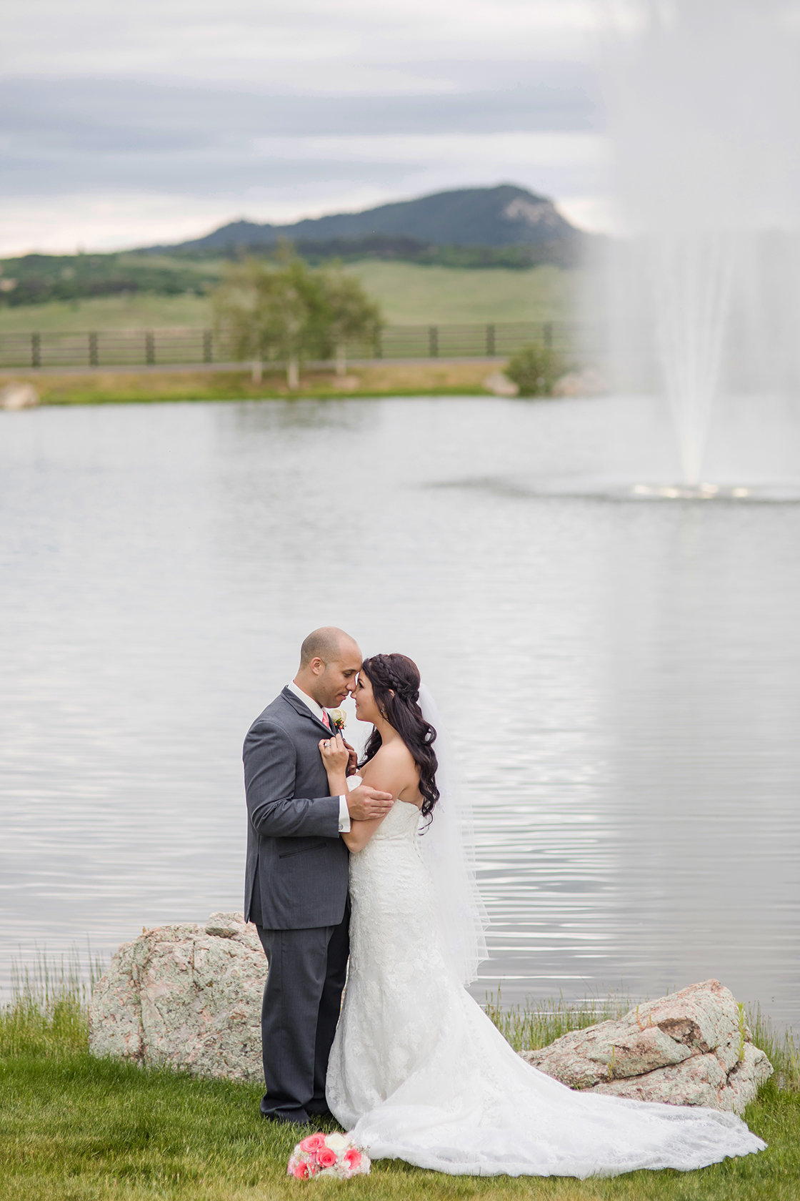 wedding at ponderosa spruce mountain ranch