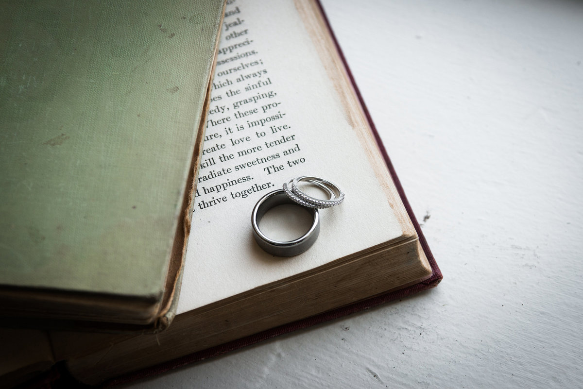 Wedding-rings-on-old-book-Green-Gables-Wedding