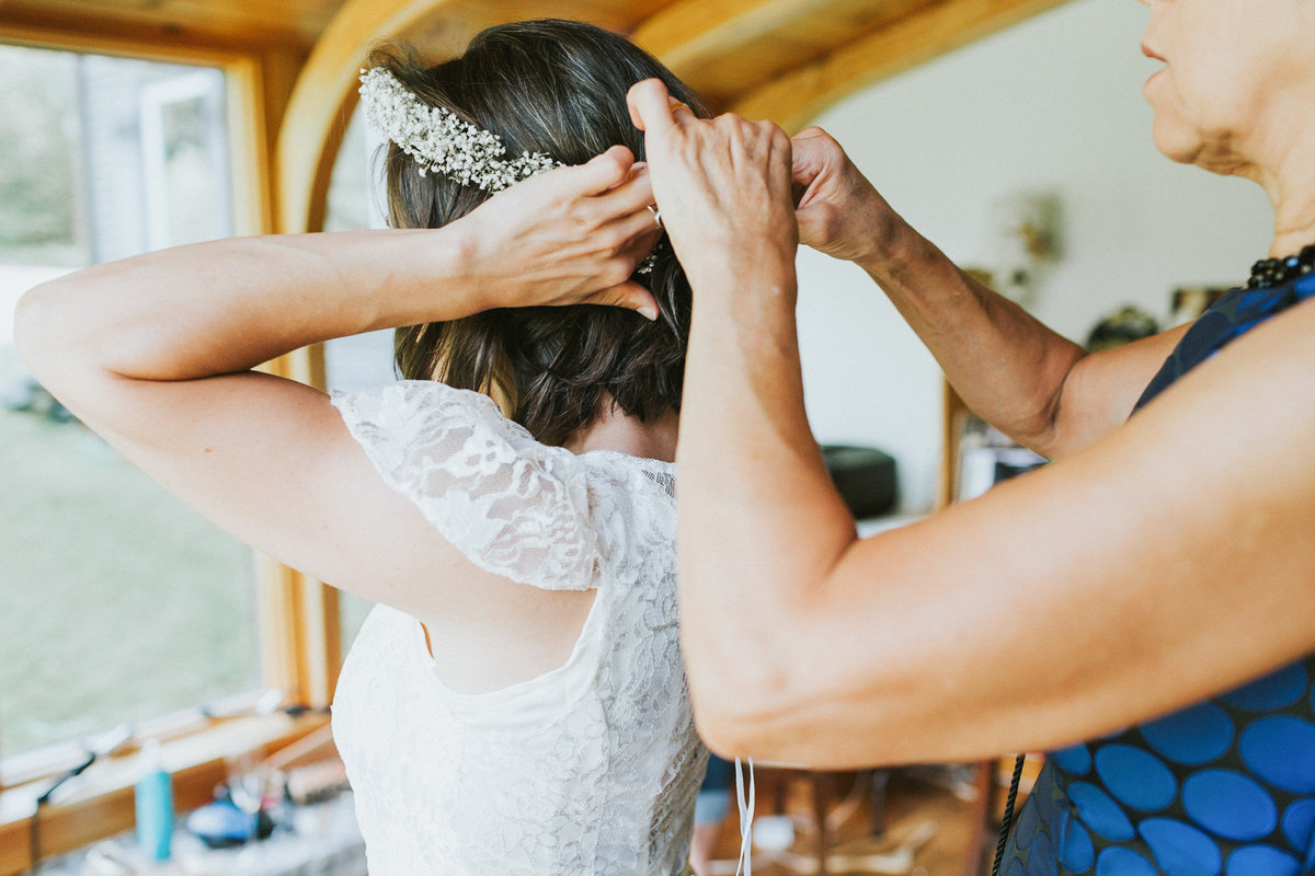 Vermont Camp Wedding at Squabetty in Underhill Vermont by Ashley Largesse Photography