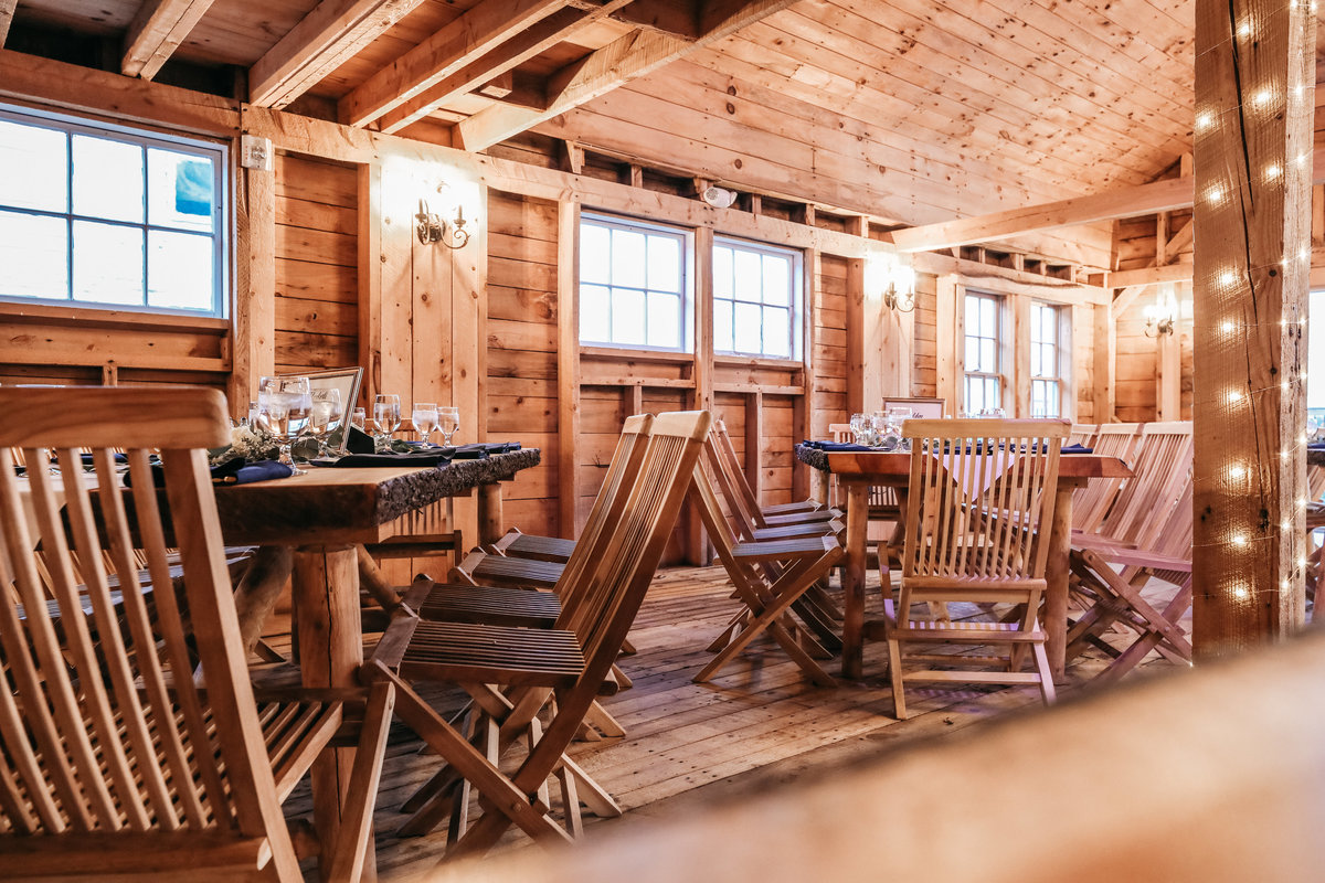 rustic wedding venues Maine