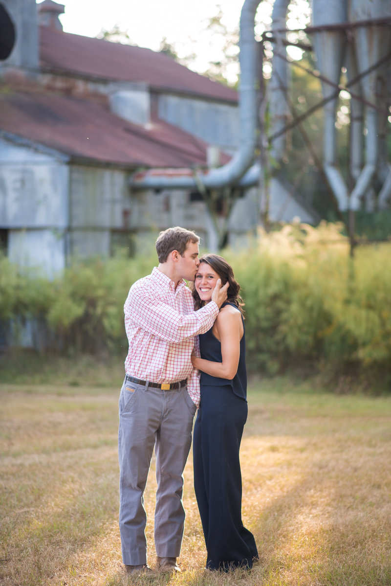 Sunset Engagement Session by Georgia Wedding Photographer Eliza Morrill-17