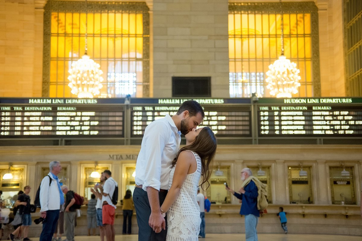 Grand Central Station Engagement Pictures