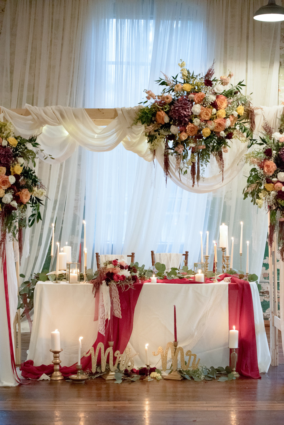 Chuppah with Flowers