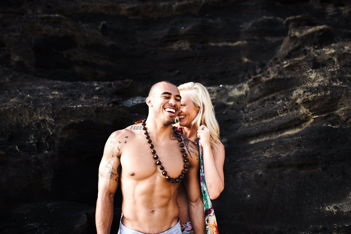Eternity Beach Honolulu Hawaii Destination Engagement Session - 64