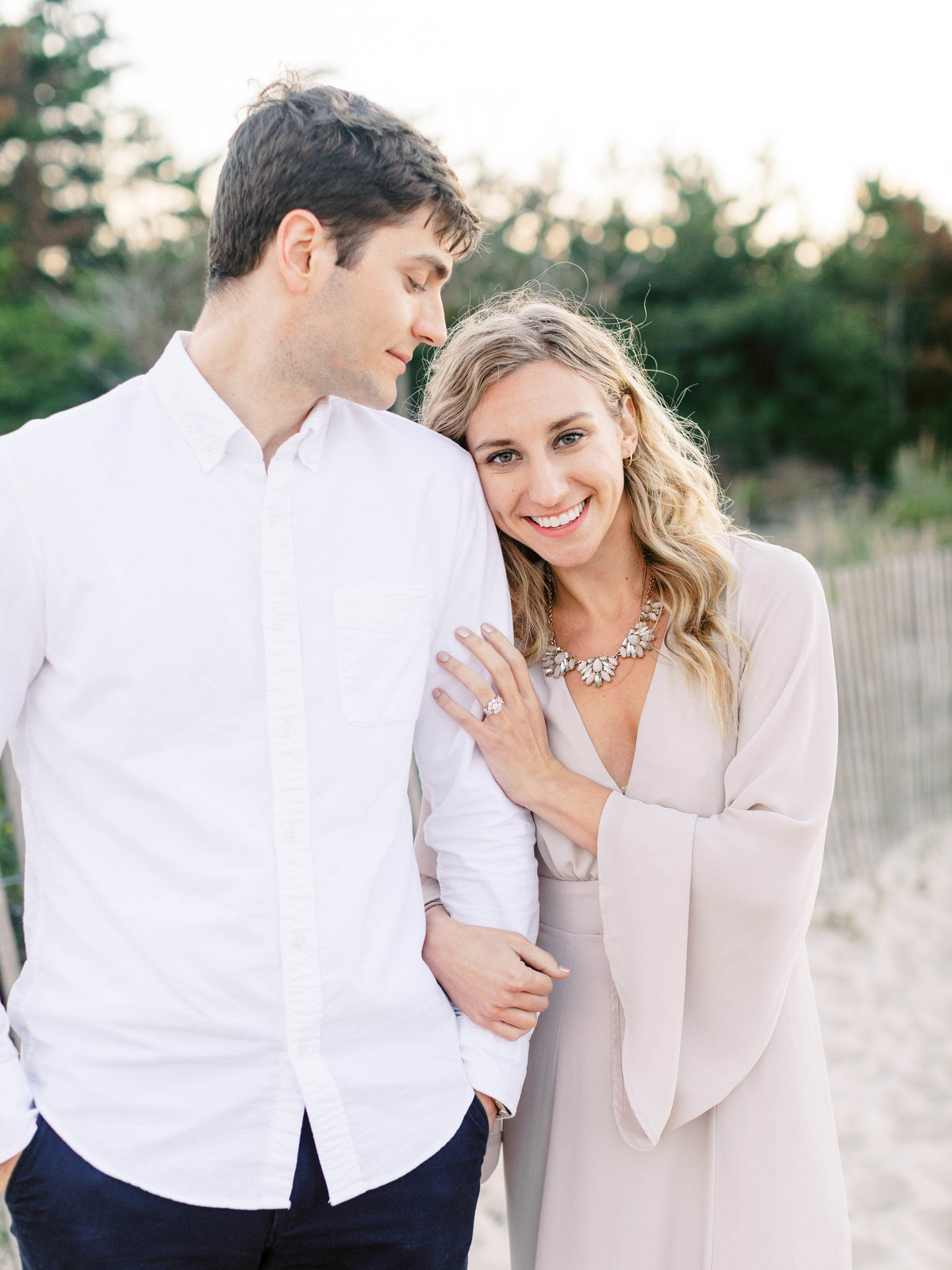 delaware beach wedding photographer, cape henlopen engagement session, delaware fine art wedding photographer-175