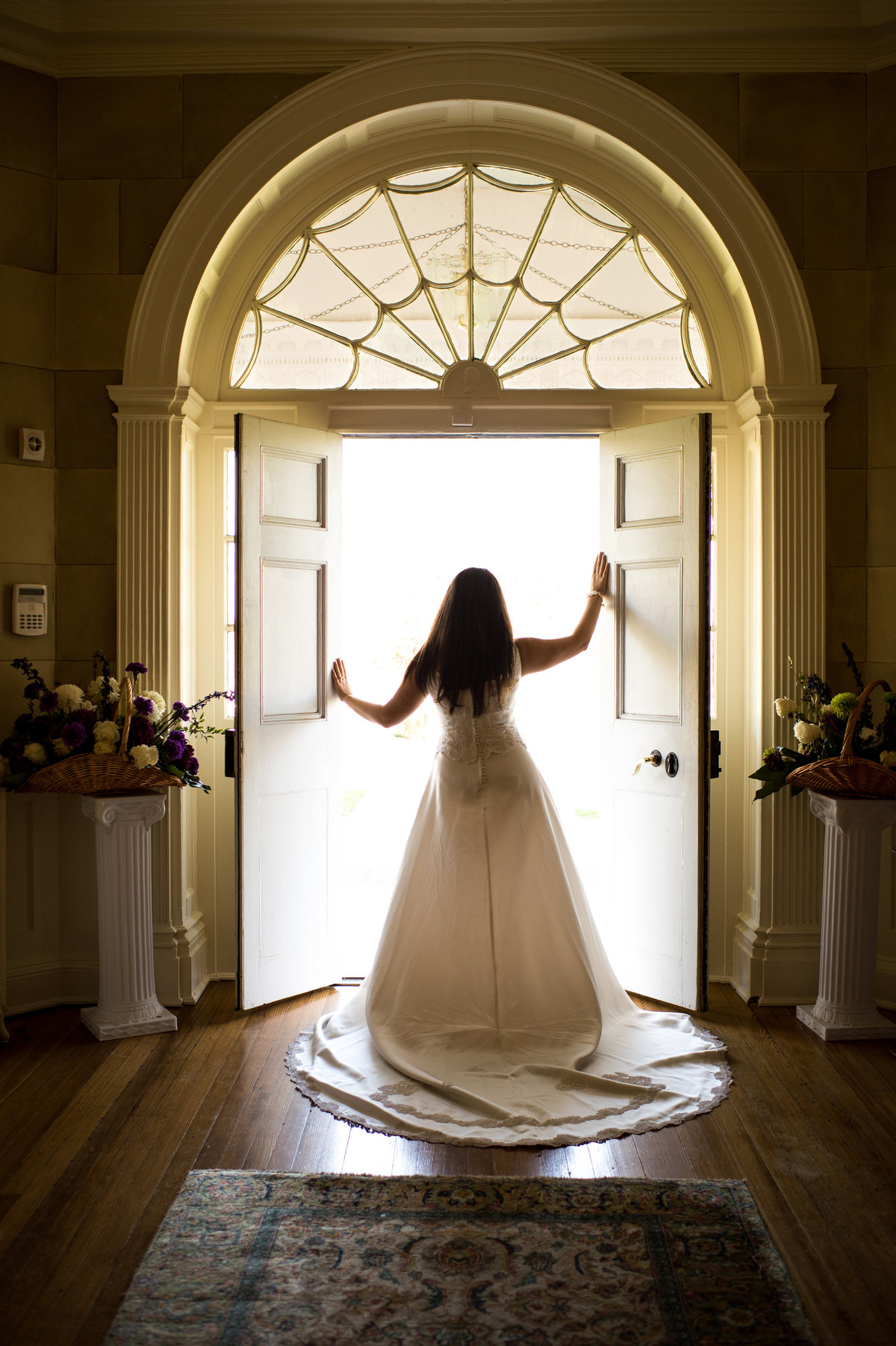Bridal Portrait at Belmont Country Club, Ashburn VA