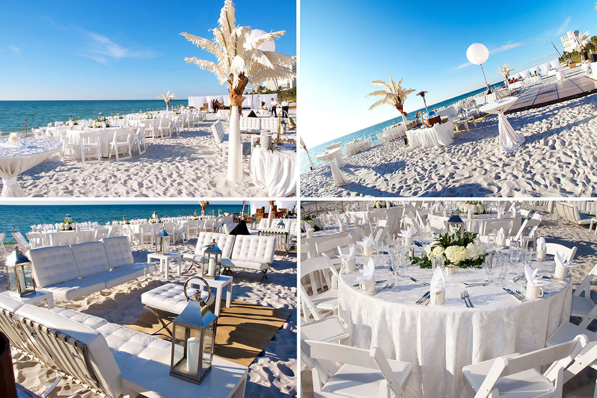 ritz carlton naples florida beach wedding reception