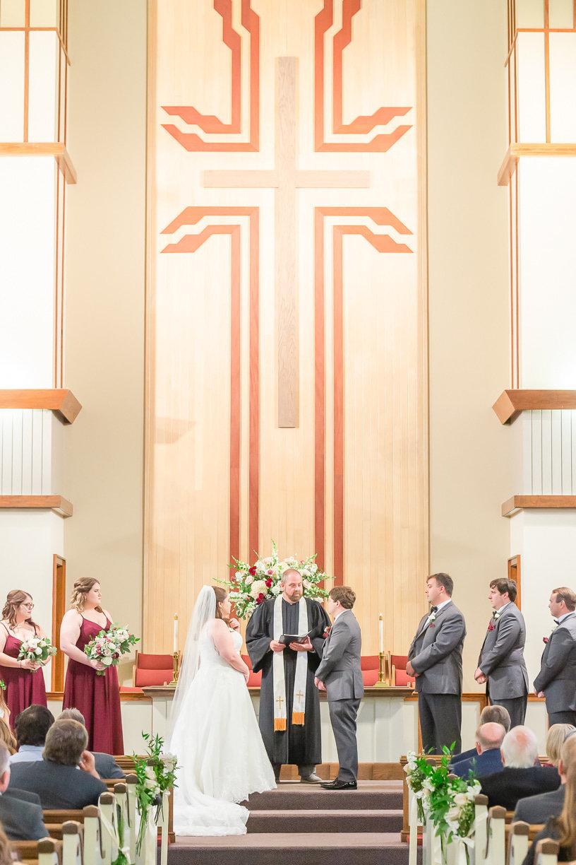 church ceremony photographed by Toni Goodie Photography