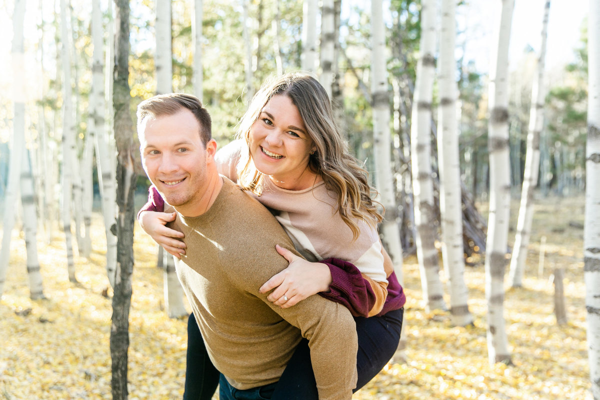 Karlie Colleen Photography - Flagstaff Arizona Engagement Photographer - Britt & Josh -81
