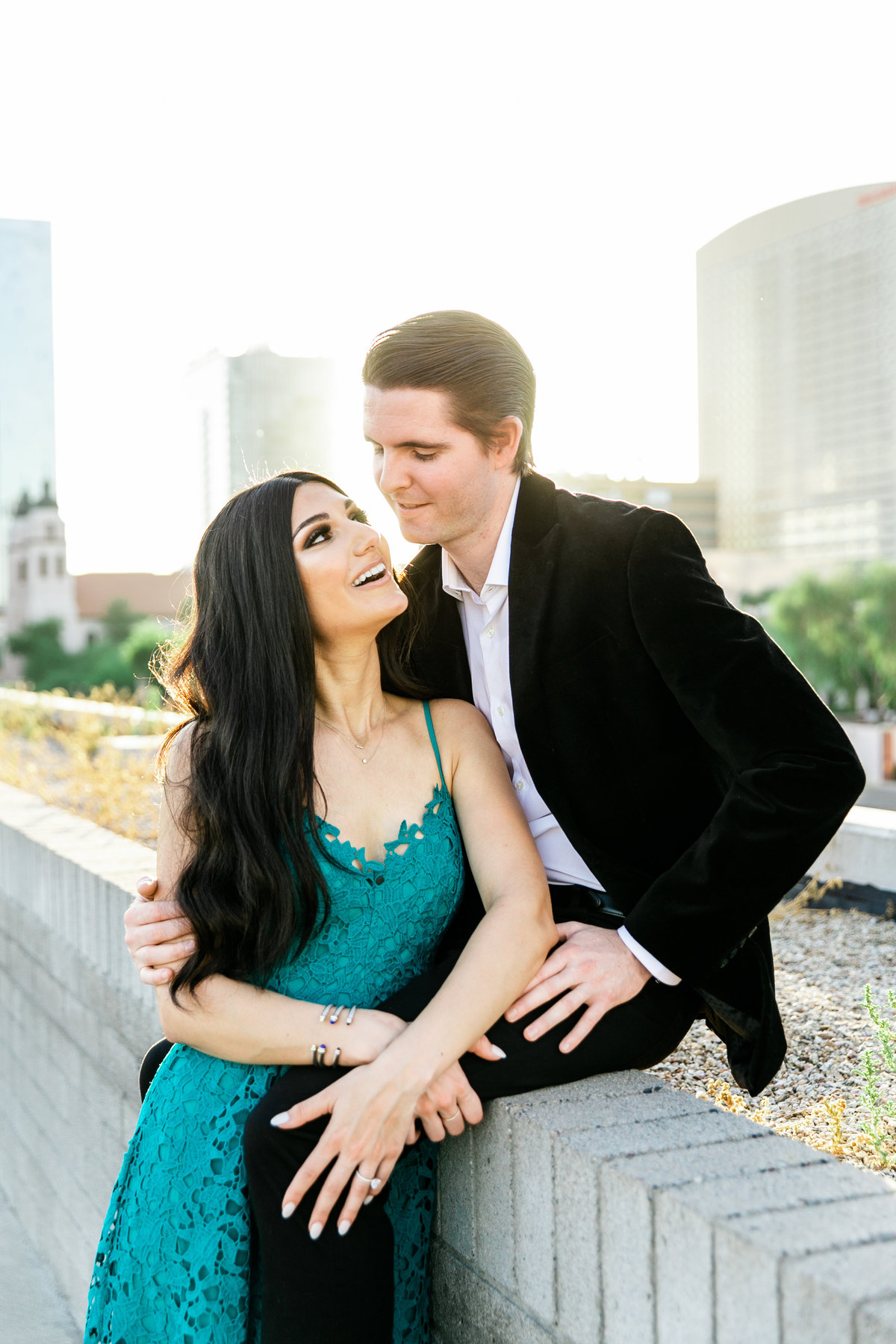Karlie Colleen Photography - Arizona Engagement City Shoot - Kim & Tim-218