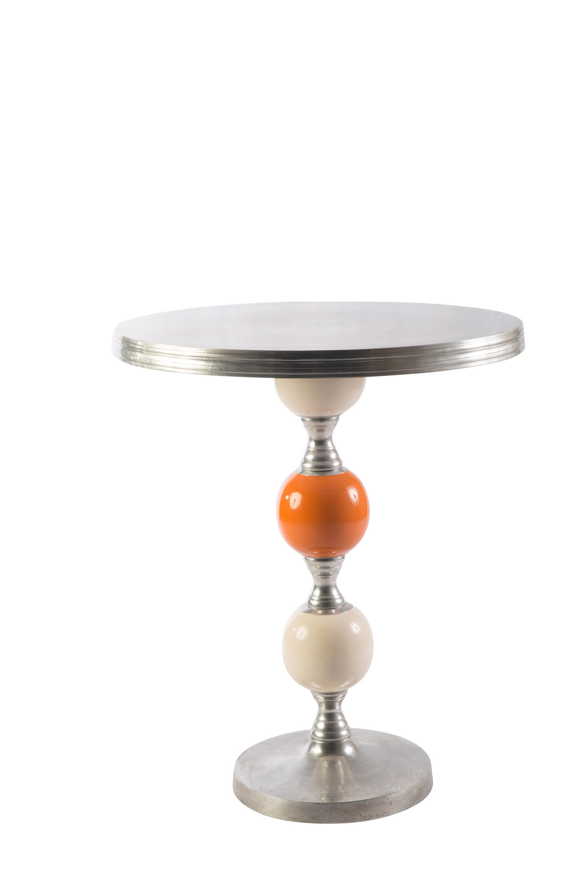 White Orange Joya Cocktail Table