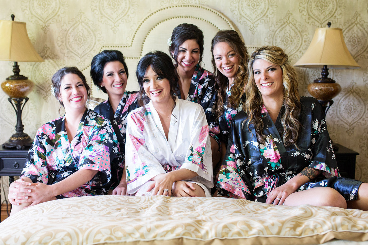 Bridesmaids robes kansas city