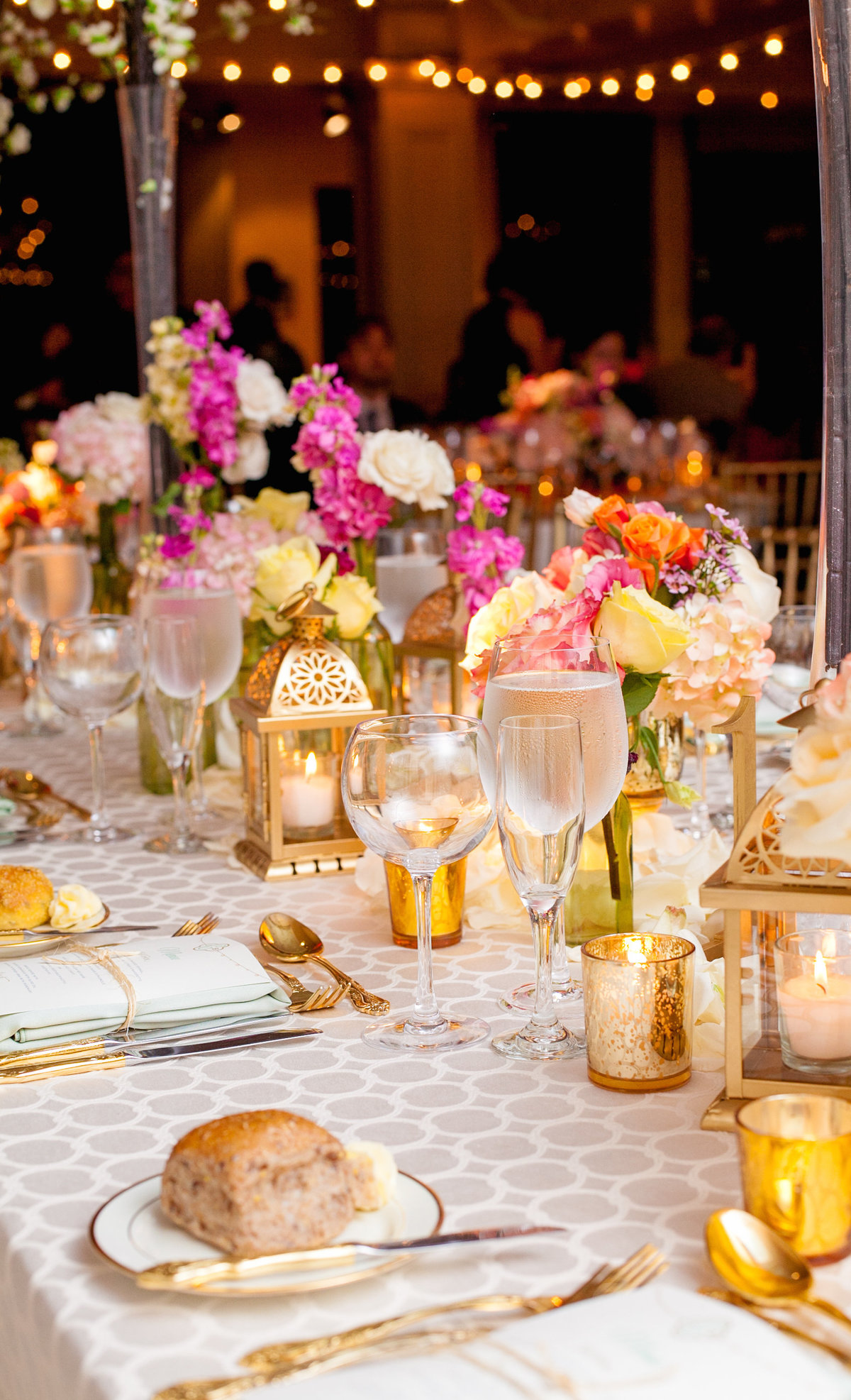 NYC Manhattan Penthouse Wedding Planner Colorful K. Barner Events 21