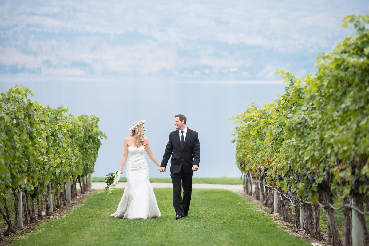Quails Gate Winery wedding