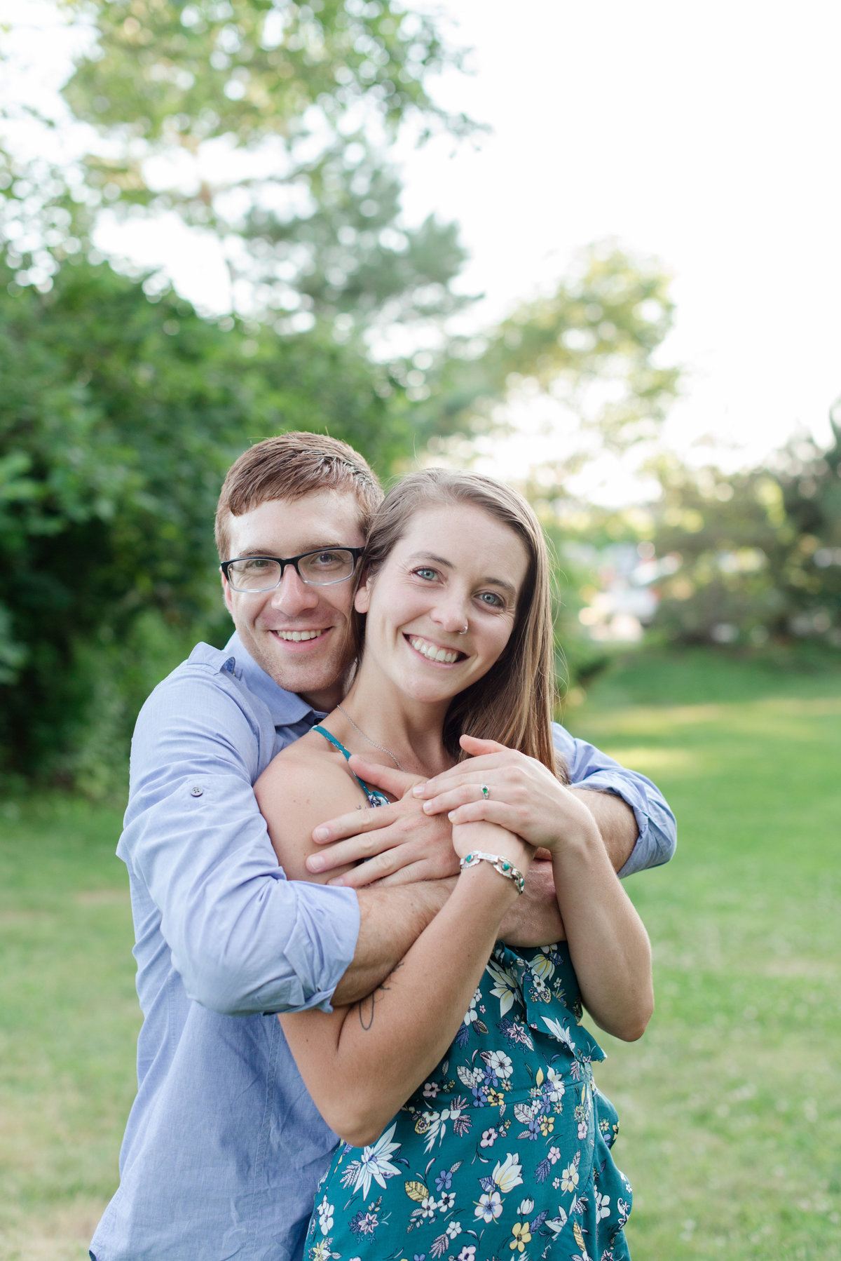 york harbor engagement photos