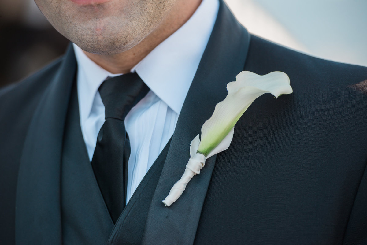 groom at Vancouver Yacht Club wedding