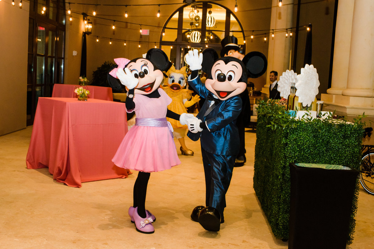 Mickey and Minnie at Four Seasons Orlando