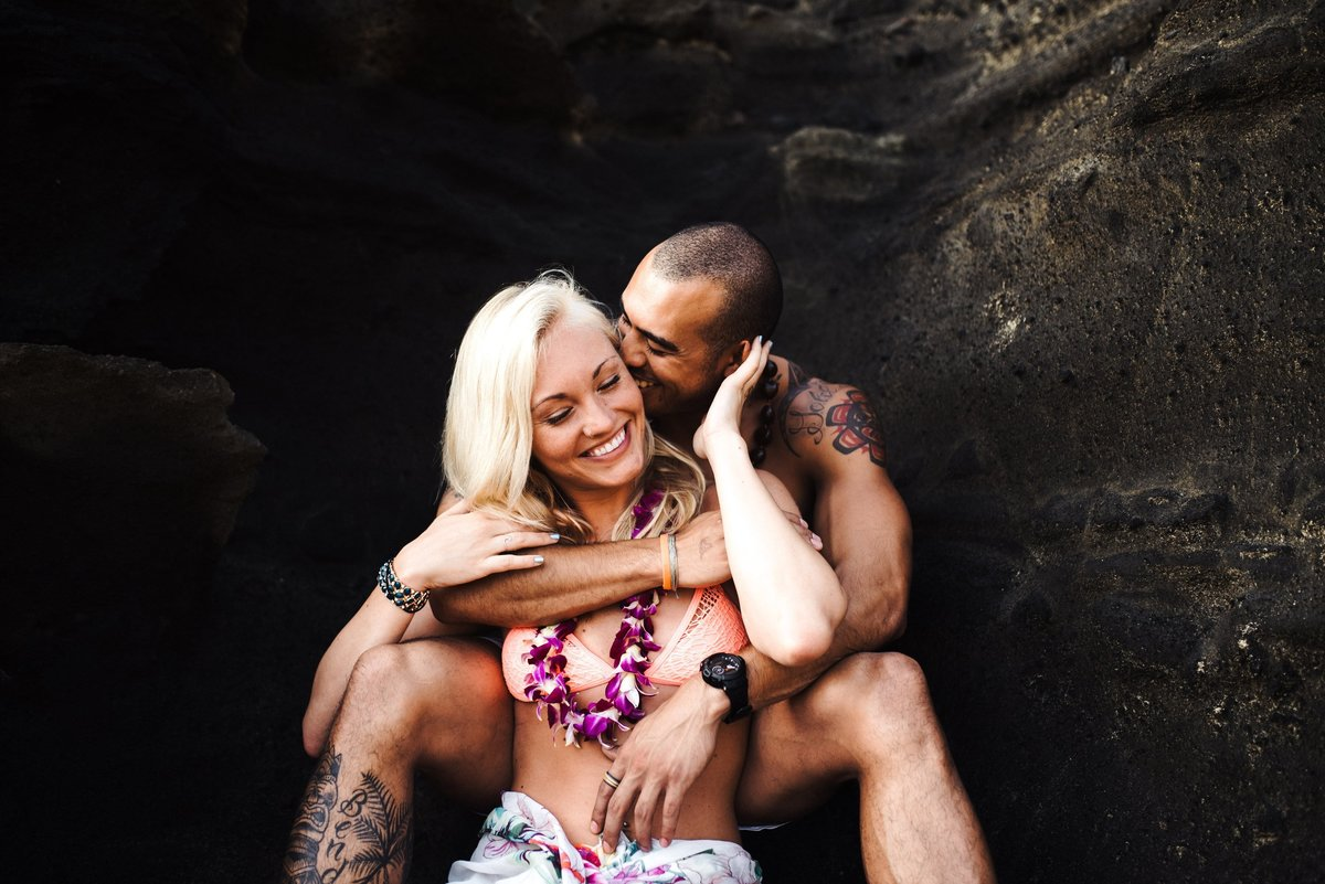 Eternity Beach Honolulu Hawaii Destination Engagement Session - 57