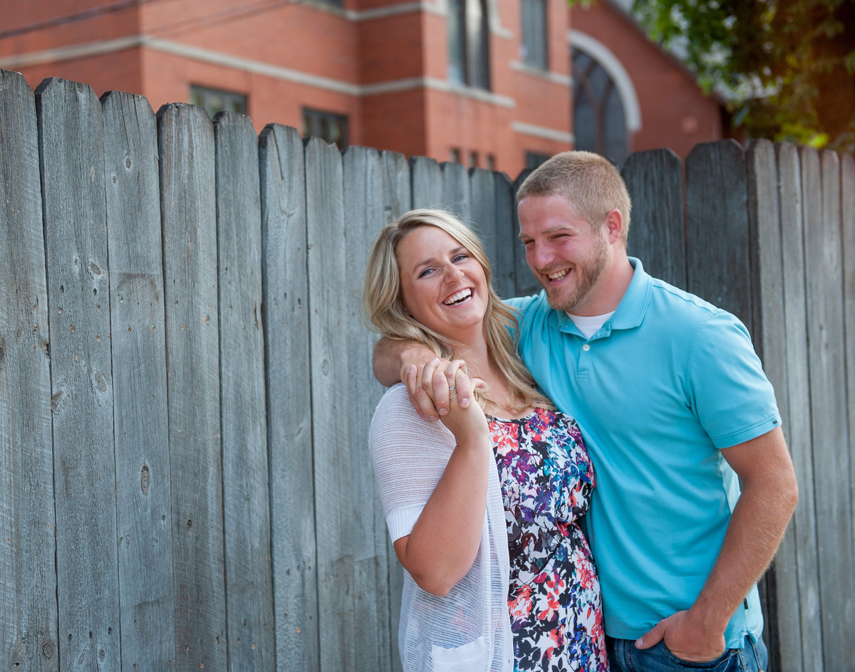 downtown fargo engagement photographers kriskandel