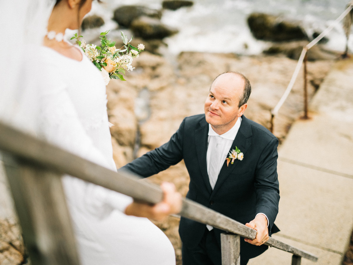 massachusetts backyard wedding ocean boston wedding photographer