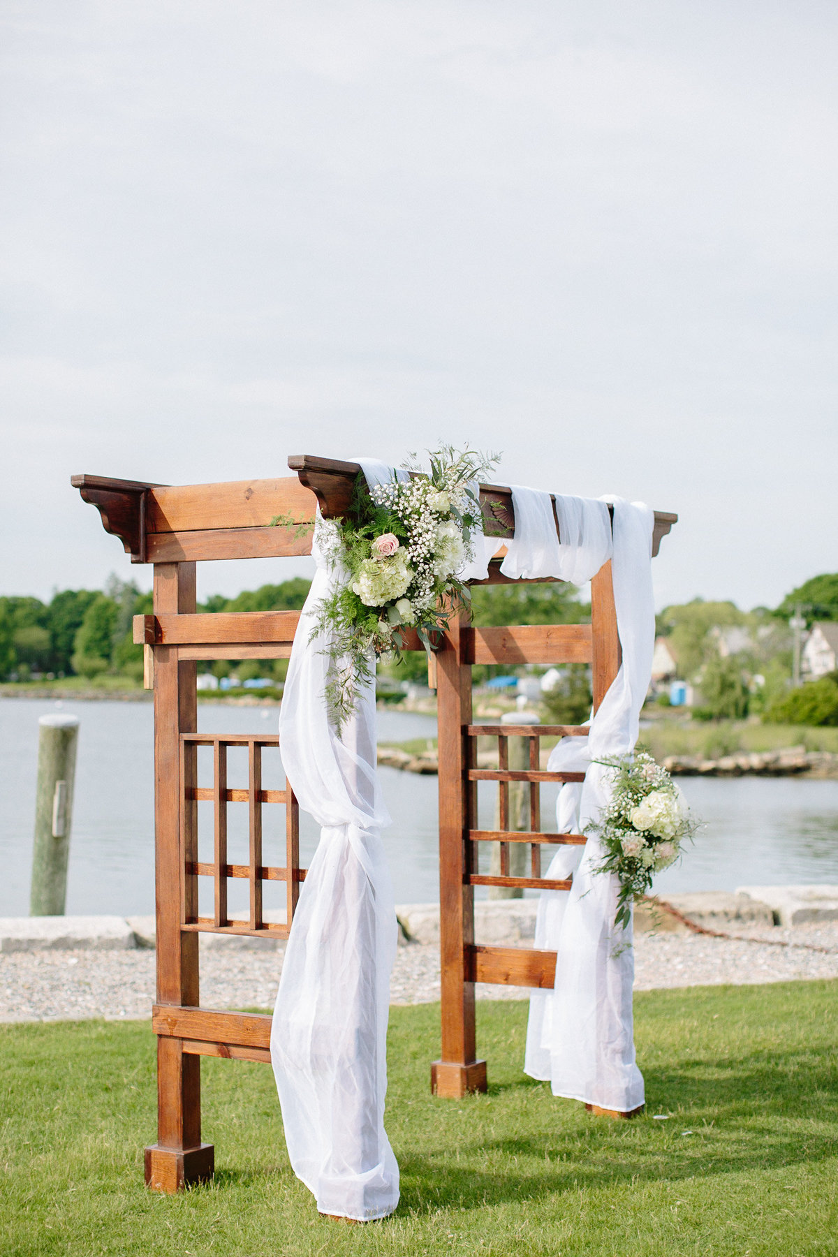 mystic ct outdoor ceremony