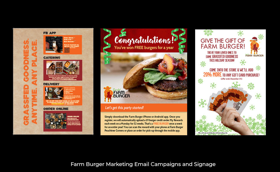 Farm Burger Campaigns