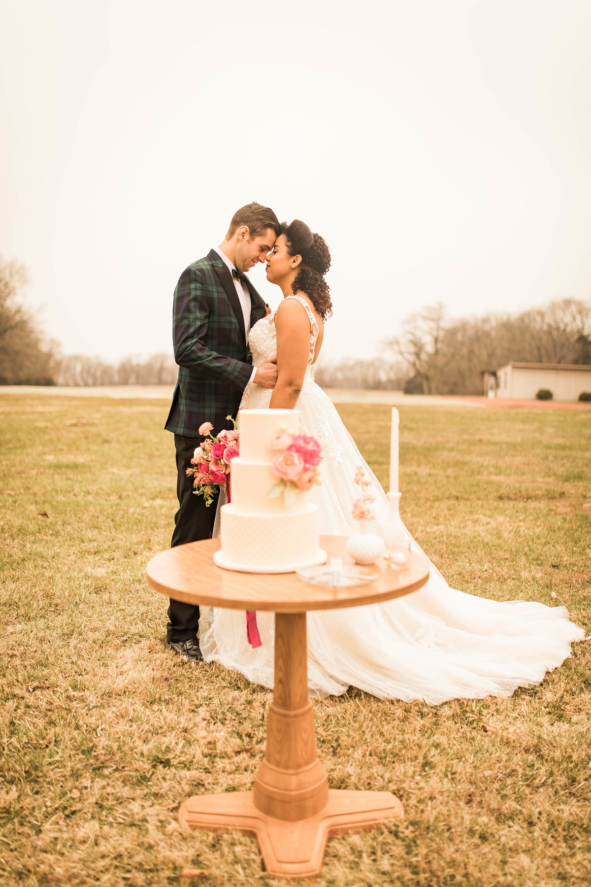 Retro Styled Shoot - Sophia and Andrew - St Louis Wedding Photographer - Allison Slater Photography 172