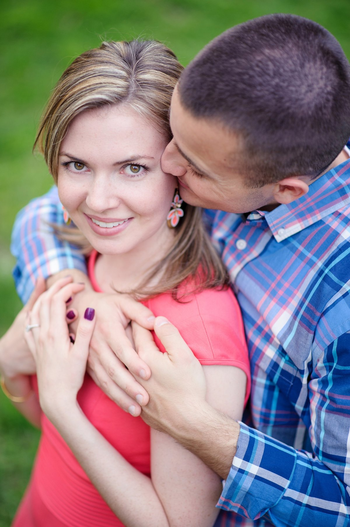 spring engagement session richmond va