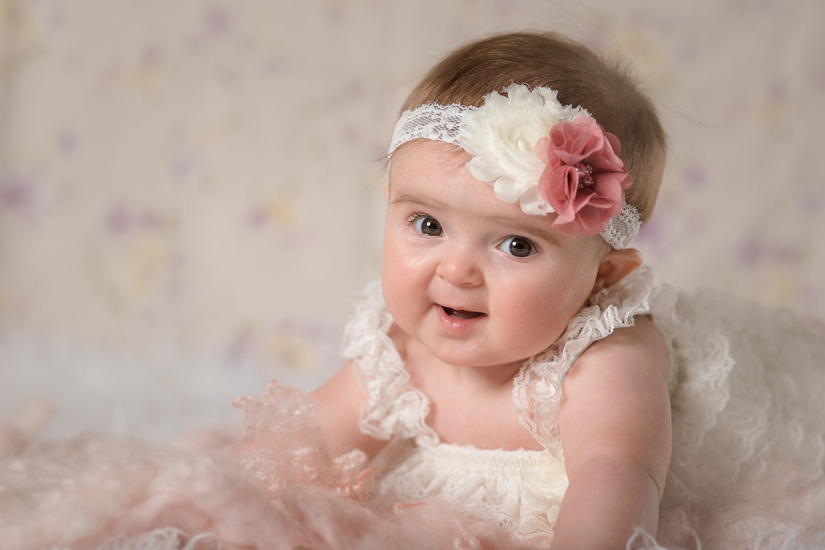 baby girl 6 month photo ideas