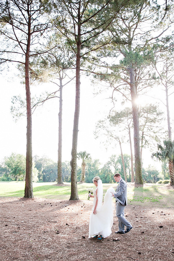 Savannah Golf Club Spring Wedding Bride Groom