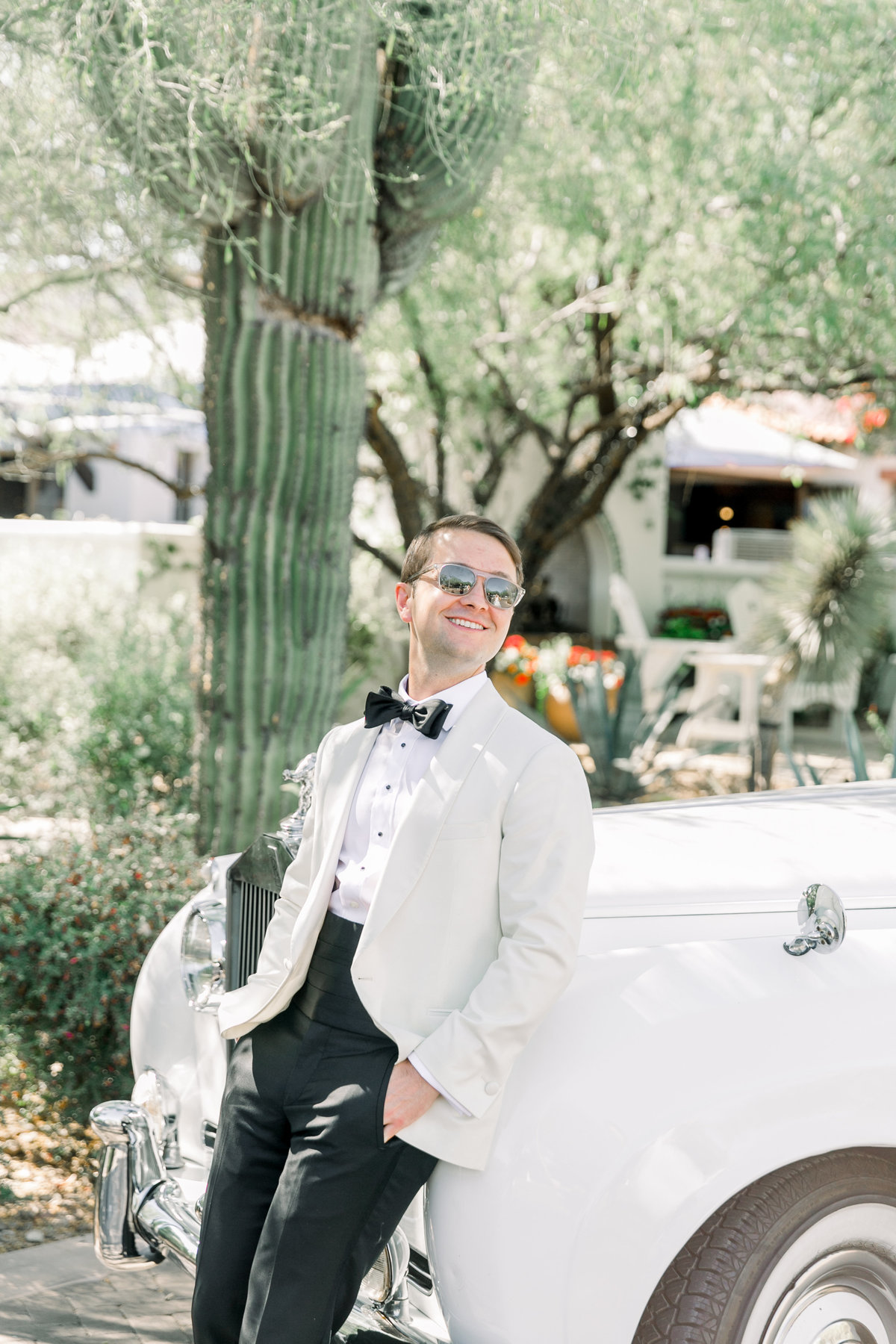 Karlie Colleen Photography - El Chorro Arizona Desert Wedding - Kylie & Doug-329