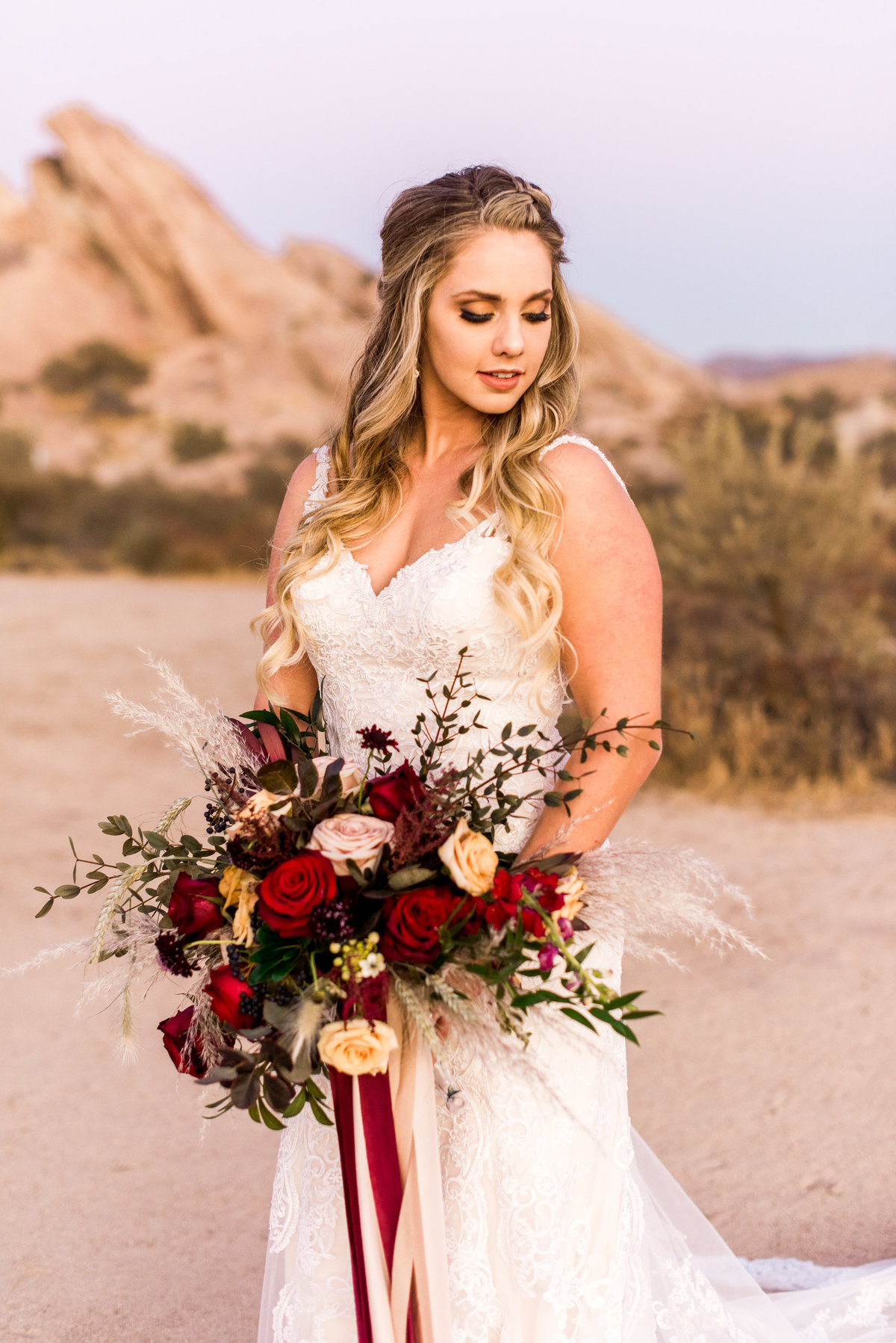vasquez rocks elopement photo